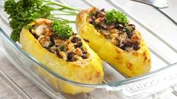 Ziemniaki nadziewane grzybami - przepis wileńskiej kuchni - miniaturka