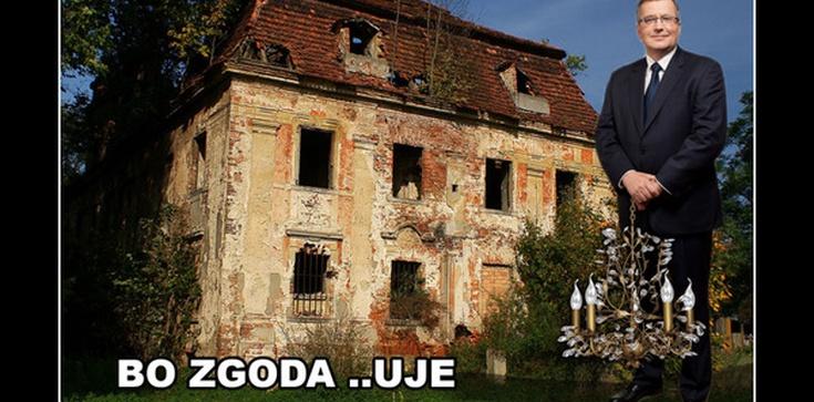 PO prostu...Komorowski opuścił pałac! - zdjęcie