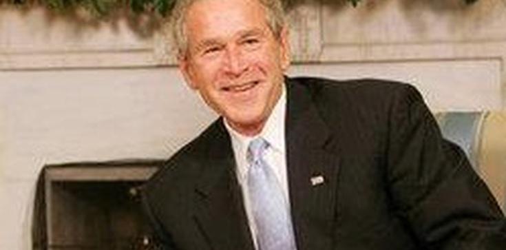 Człowiek z maczetą chciał zabić G. W. Busha. Został zatrzymany! - zdjęcie