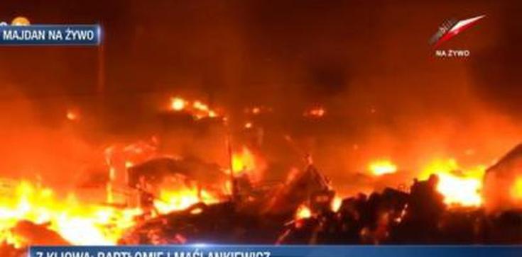Już 25 osób zginęło na Majdanie. Janukowycz oskarża opozycję o dokonanie przewrotu! - zdjęcie