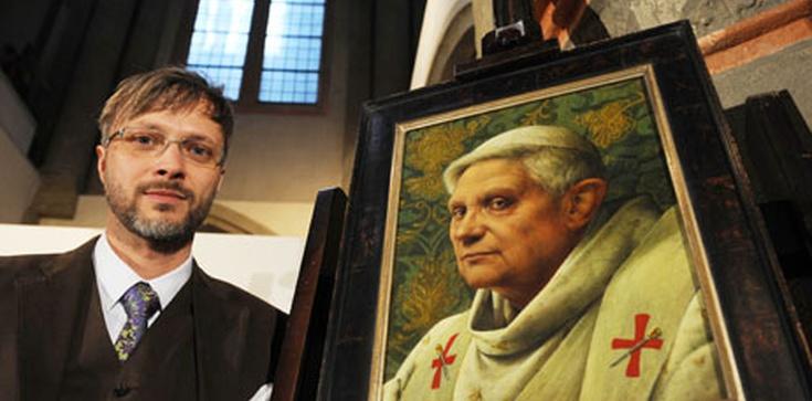 Nawrócenie słynnego ateisty, który namalował portret Papieża Benedykta XVI - zdjęcie