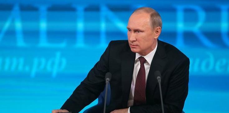 Putin w orędziu: Zachodni politycy są jak Hitler - zdjęcie