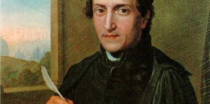 Filozofia i teologia osoby bł. Antonio Rosminiego, ojca personalizmu europejskiego - zdjęcie