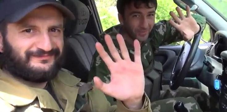 """""""Zielone ludziki"""" wracają na Ukrainę - zdjęcie"""