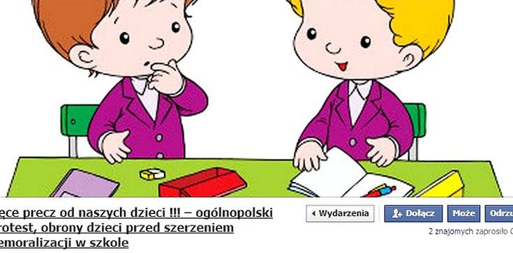 """Rodzice mają dość: """"Ręce precz od naszych dzieci"""". W całej Polsce będą protestować przeciwko demoralizacji najmłodszych - zdjęcie"""