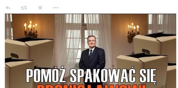 Pomóż spakować się Bronisławowi Komorowskiemu! - zdjęcie
