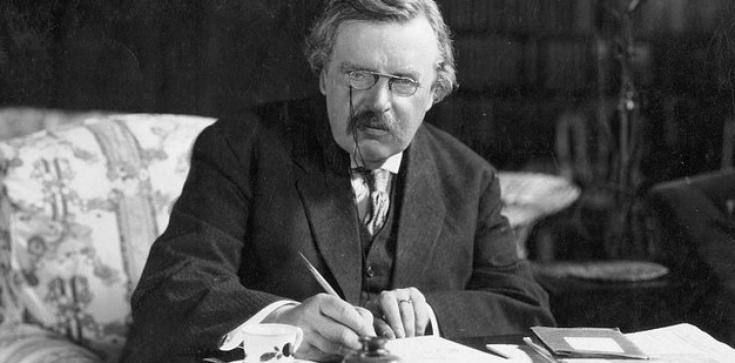"""Nie ma współczesności poza herezją, czyli """"maszynka Chestertona"""" - zdjęcie"""