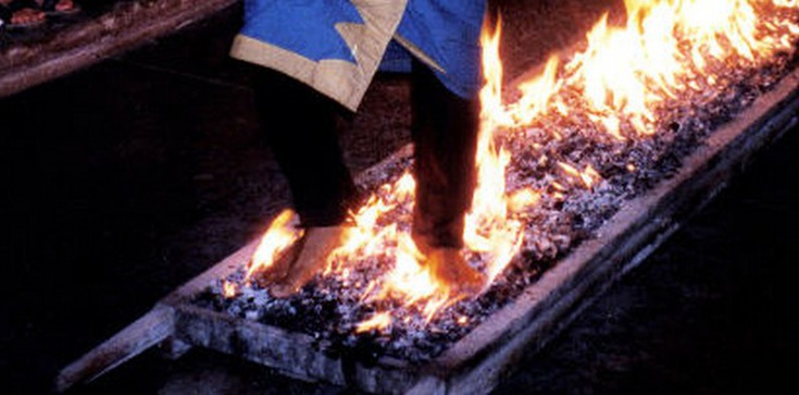 Nie chodzę po ogniu, ponieważ jestem chrześcijaninem! - zdjęcie