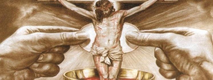 Znalezione obrazy dla zapytania ciało i krew chrystusa