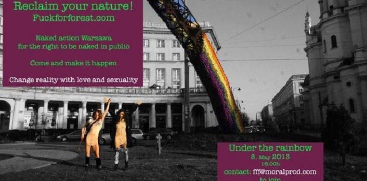 """Dziś """"Fuck For Forest"""" chce zamanifestować swoje zboczenie! Czy pozwoli na to Prezydent miasta Warszawy? Czy Kościół na Placu Zbawiciela zostanie publicznie zgorszony przez dewiantów seksualnych? - zdjęcie"""