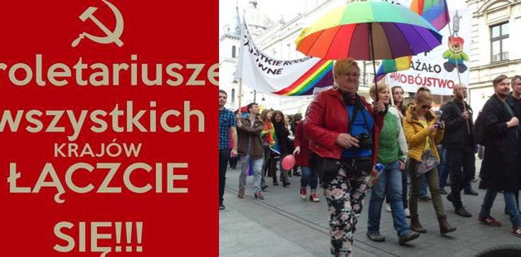 Geje i Lesbijki łączcie się !!!KOD maszeruje w Łodzi! - zdjęcie
