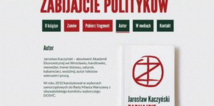 Jarosław Kaczyński napisał powieść  - zdjęcie