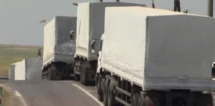 Rosja przerzuca setki ton ładunku do Donbasu. Co to? - zdjęcie