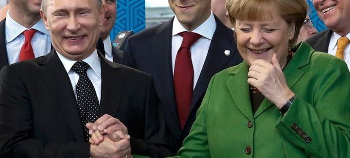 Pakt Merkel-Putin