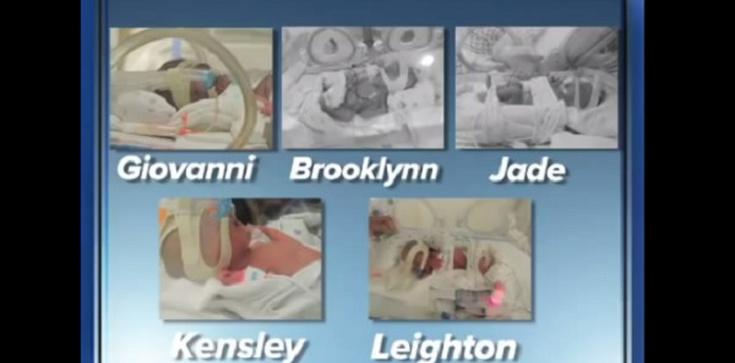 Odrzuciła aborcję. I urodziła... pięcioraczki! - zdjęcie