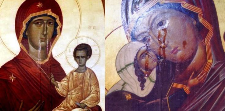 Zapowiedź kataklizmu? Ikony na Ukrainie i w Rosji płaczą! - zdjęcie
