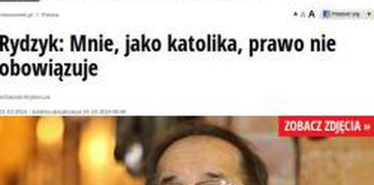 """Andrzej Jaworski dla Fronda.pl: Katolicy – stojący ponad prawem anarchiści? O manipulacji """"GW"""" i """"Nesweeka"""" - zdjęcie"""