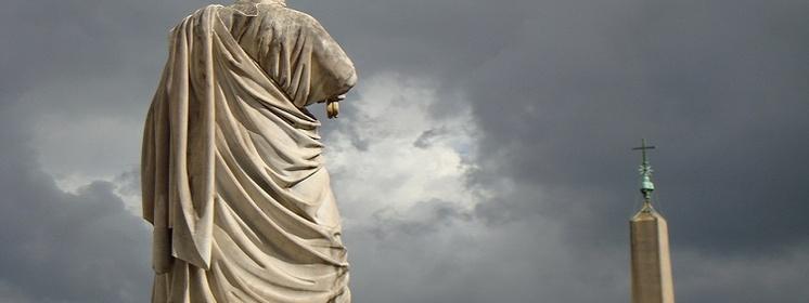 Benedykt XVI: Piotr - na tej skale Chrystus zbudował Kościół