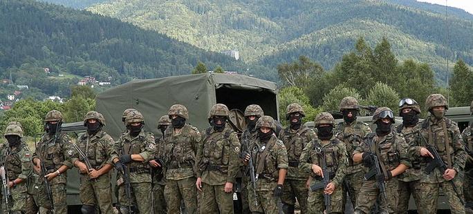 Znalezione obrazy dla zapytania obrona terytorialna