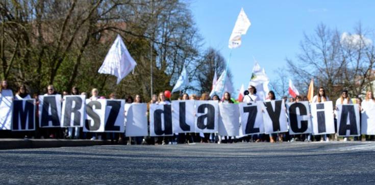"""""""Kobieta jest piękna!"""" czyli działo się na Szczecińskim Marszu dla Życia  - zdjęcie"""