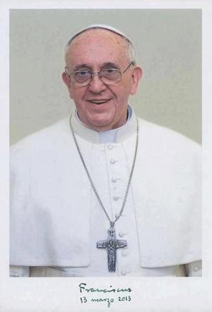 Papież Franciszek (fot. Oficjalna strona watykańska)