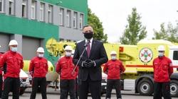 Prezydent o ratownikach górniczych: prędzej czy później cię wydobędą idadzą zsiebie wszystko - miniaturka