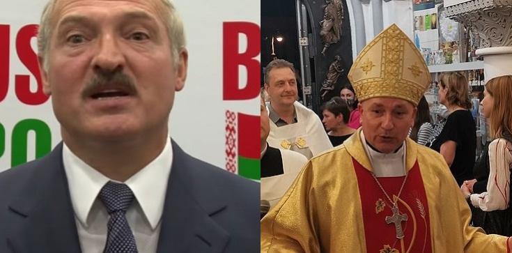 Białoruski Kościół się ,,doigrał''? Siepacze Łukaszenki w archikatedrze w Mińsku - zdjęcie