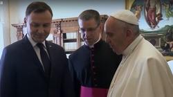 PKN Orlen wspomoże Watykan. Prezydent Andrzej Duda rozmawiał dziś z papieżem Franciszkiem - miniaturka
