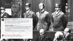 Dziennikarz do ambasadora Niemiec w rocznicę Norymbergi: Zapomniał Pan użyć słowa ,,Niemcy'' - miniaturka