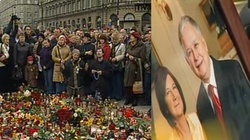 Z internetu: Kilka chwil serce narodu biło razem - w żałobie... - miniaturka