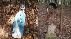 Bochnia. Zdewastowano figurkę Matki Bożej Niepokalanie Poczętej z roku 1880 - miniaturka