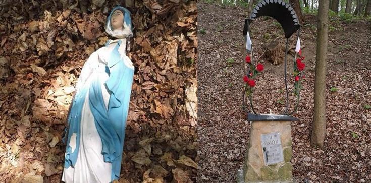 Bochnia. Zdewastowano figurkę Matki Bożej Niepokalanie Poczętej z roku 1880 - zdjęcie