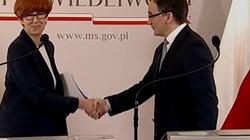 Ziobro i Rafalska: Czas wziąć się za alimenciarzy!!!Nowelizacja to dopiero początek - miniaturka