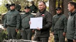Prezydent Andrzej Duda: Od nowego roku podwyżki dla żołnierzy zawodowych - miniaturka
