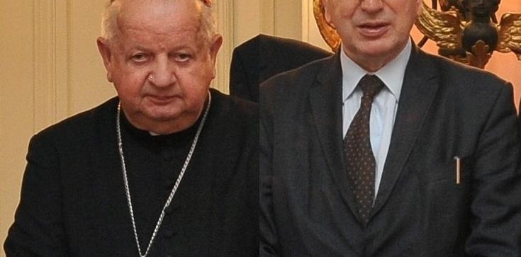 Wspomnienie kard. Dziwisza o Śp. inż. Antonim Ziębie - zdjęcie