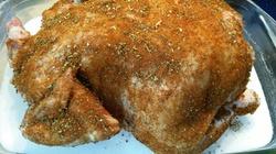 Kurczak po gruzińsku pieczony na soli - miniaturka