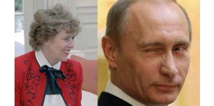 Była doradczyni Ronalda Reagana poprosiła Putina o obywatelstwo rosyjskie - zdjęcie