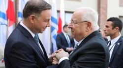 Będzie pojednanie z Żydami? Prezydent Andrzej Duda spotkał się z Riwlinem - miniaturka