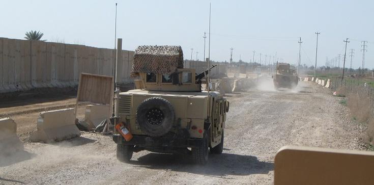 Irak. Zaatakowano amerykańską bazę, byli w niej żołnierze - zdjęcie