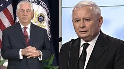 Tillerson spotka się dziś z Kaczyńskim - miniaturka
