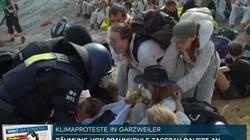 W Niemczech brutalne starcia tzw.ekologów z policją - miniaturka