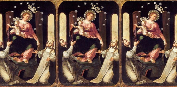 Historia cudownego obrazu Matki Bożej Różańcowej - zdjęcie