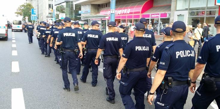 Marsz Powstania i blokada HGW. NASZA FOTORELACJA - zdjęcie