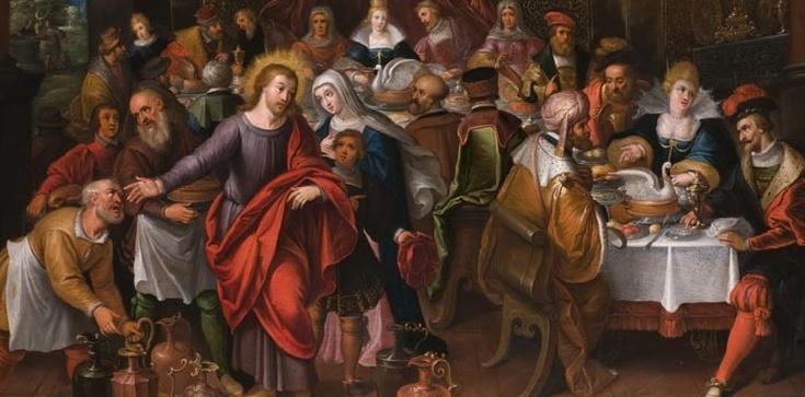 Gdy Chrystus po raz pierwszy objawił swoją chwałę - zdjęcie