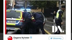 Sztokholm: Dżihadysta z nożem zaatakował policjanta - miniaturka