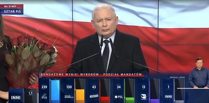 Jarosław Kaczyński komentuje wynik wyborów: Musimy pracować jeszcze więcej - zdjęcie