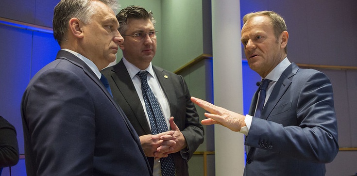 Tusk zaatakował Orbana. ,,Nie jesteś chrześcijańskim demokratą'' - zdjęcie