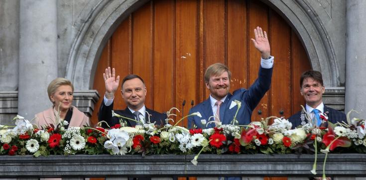 Prezydent w Holandii przypomina o bohaterstwie Polaków - zdjęcie
