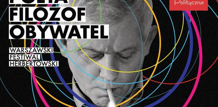 Zapraszamy na Warszawski Festiwal Herbertowski - zdjęcie