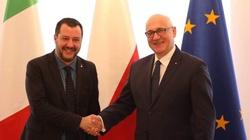Brudziński i Salvini o współpracy i bzdurach ,,polexitu'' - miniaturka